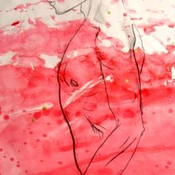 2012. Life Drawing Series. Charcoal.