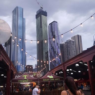 Melbourne Night Market.