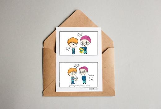 Cartoon Cards